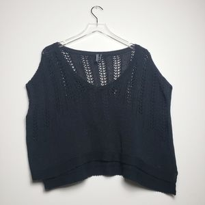 GUESS knitted croptop